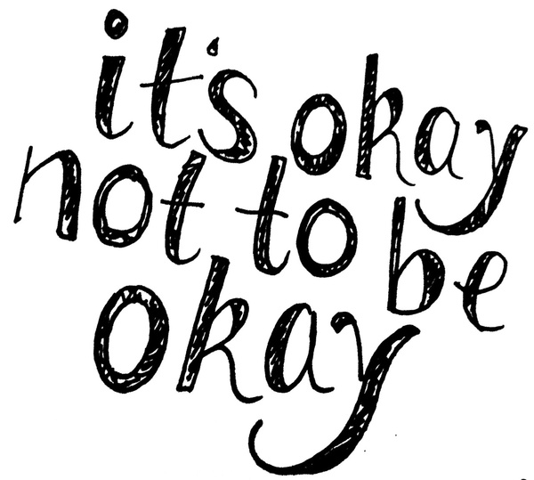 Bildresultat för it's okay to not be okay